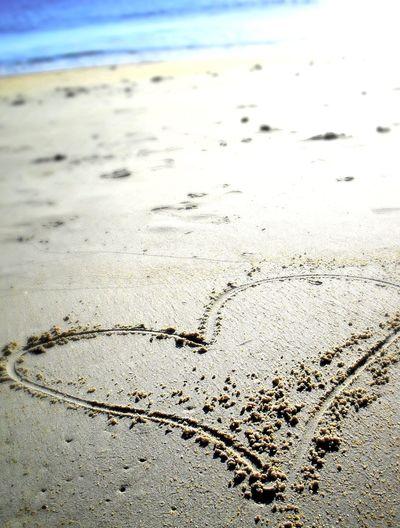 Beach Heart Sand