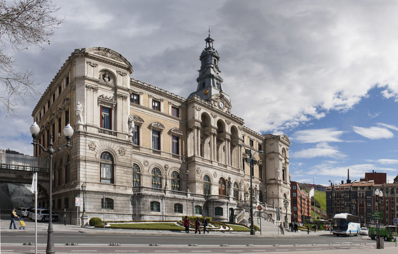 Architecture Ayuntamiento Basque Country Bilbao Bizkaia City Cloud - Sky Day Euskadi Outdoors Panorama Sky SPAIN Tourist Destination Town Hall Travel Destinations Vizcaya
