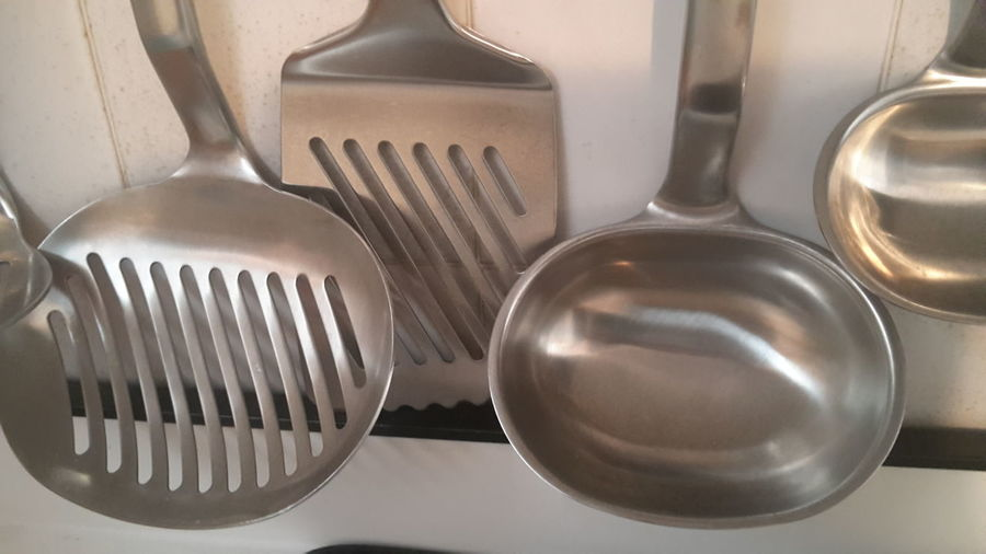 Close-up of kitchen utensils