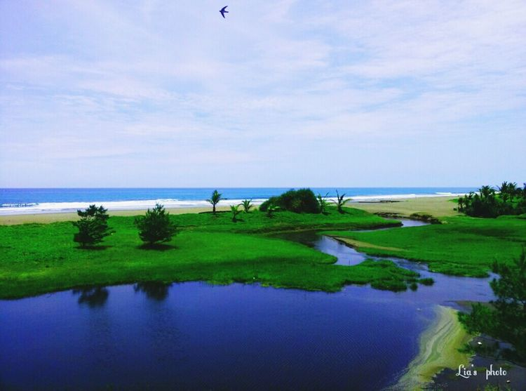 Awesome place in my country....yeaahhhh!!! Landscape Beach Sky And Sea Laguna Beach INDONESIA ExploreKebumen
