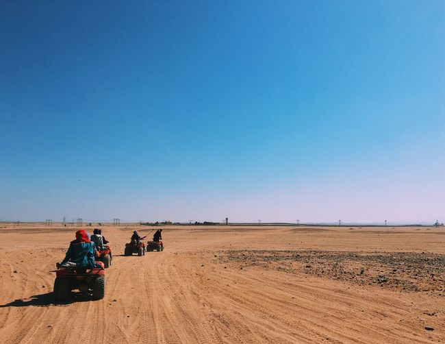 The Great Outdoors - 2017 EyeEm Awards Dessert Clear Sky Egypt Outdoors Atv Nature Scenics Enjoying Life Travel Adventure Hot Day Sand