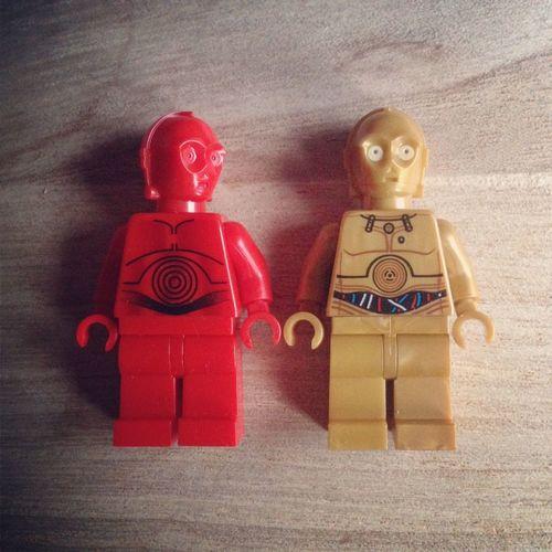 Star Wars LEGO Robots Robotlove
