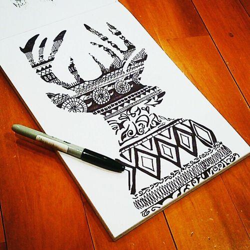 My Artwork Original Art Originaldesign Sharpie Art Design