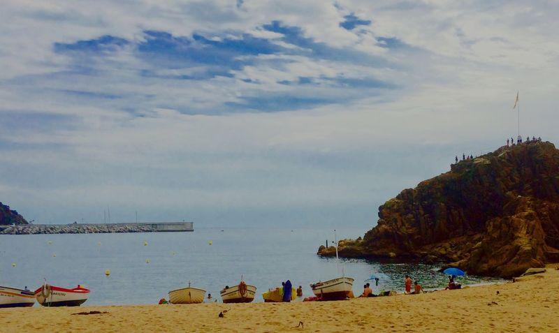 Sea And Sky Boats Beachtime♥♥ Boating España Blanes