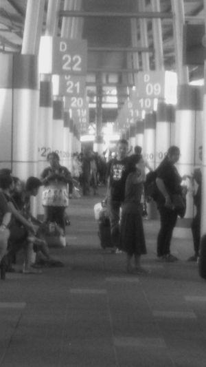 Bus terminal at larkin central of Johor.Next trip to Melaka . Busterminal Johor, Malaysia Larkinsentral Streetphoto