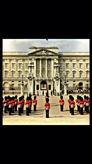 Changing of the guards! Sightseeing