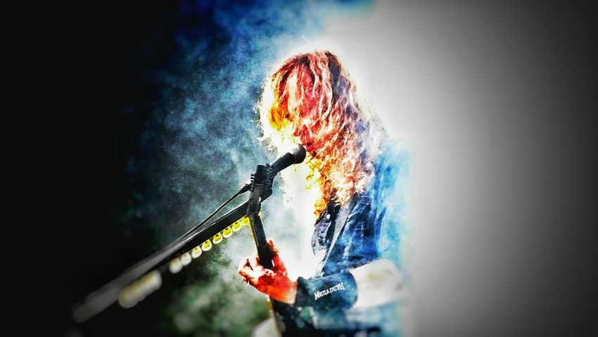 People Megadeth Dave Mustaine Thrash Metal Rock Group Metal Guitarist Musician Playing Rock Musician Sommergefühle