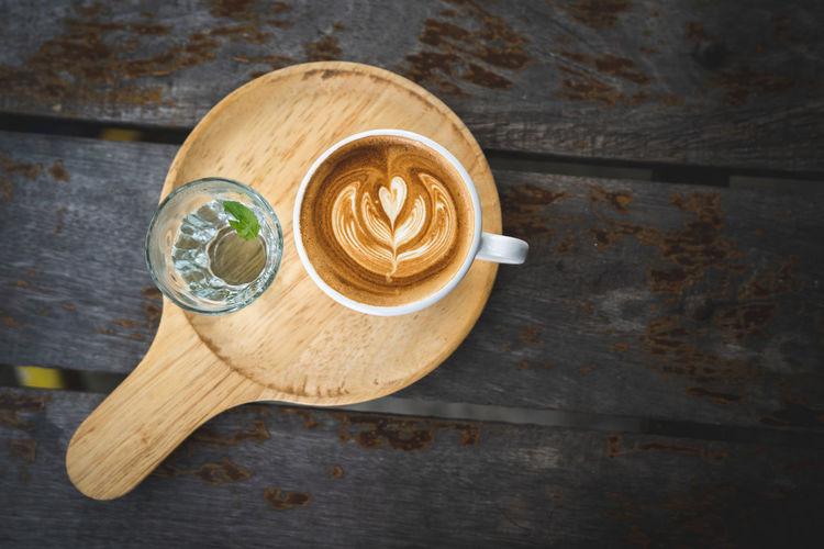 latte art Latte