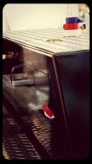 Vive La France Flag Parking