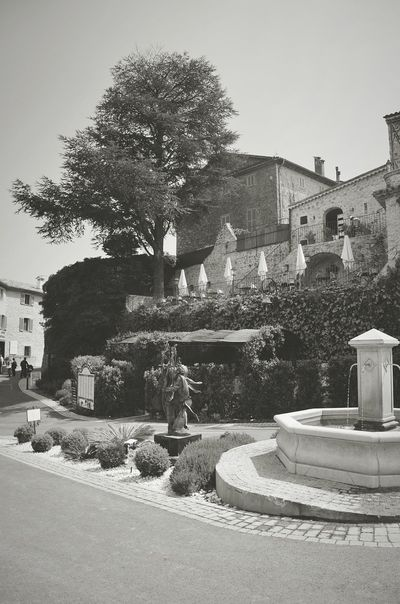 An old village in the south of France South France Enjoying The View Hanging Out Traveling Blackandwhite Black And White Black & White Urbanphotography Old Town