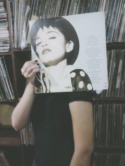 Material Girl Madonna Vinil Vintage Music