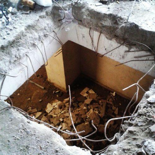 Shaft Building Build Work worker karakoy istanbul turkey