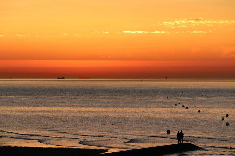 Sky Sea Orange