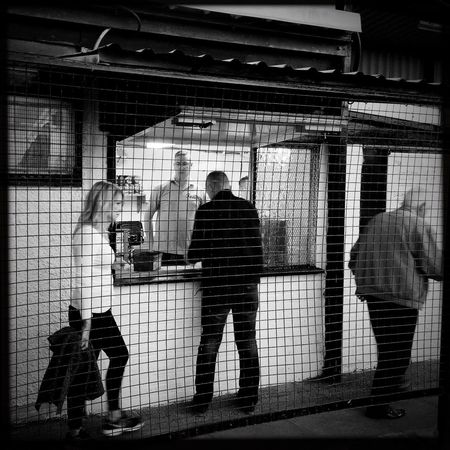 Let Me Take You To A Snack Bar Oggl Hipstamatic Shepshed Shepshed Dynamo FC Football Non League Bnw Blackandwhite Streetphotography Streetphoto_bw