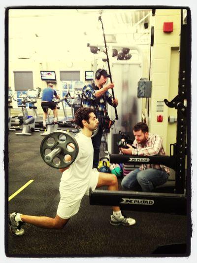 Squash Revolution Filming