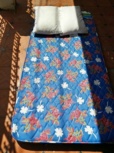 Sunbath for the mattress