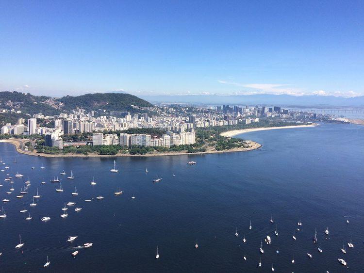 Rio de Janeiro City Water Building Exterior Blue Architecture Nature