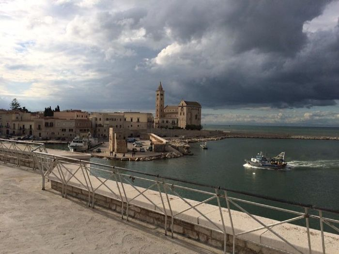 Trani, italyArchitecture Cloud Cloud - Sky Clouds Clouds And Sky Cloudy EyeEm Best Shots EyeEm Gallery EyeEm Nature Lover Grey Clouds Italy Landscape Landscape_Collection Landscape_photography Nature Nature Photography Nature_collection Night Lights Outdoors Photography Sea And Sky Sky Sky And Clouds Sky_collection Trani