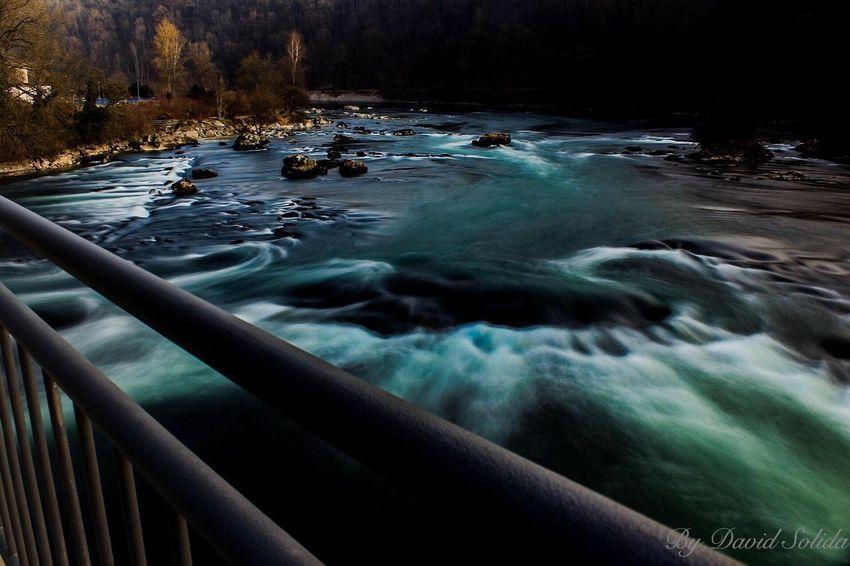 Rheinfall Nature Waterfall ND Filter Neuhausen Am Rheinfall Canonphotography