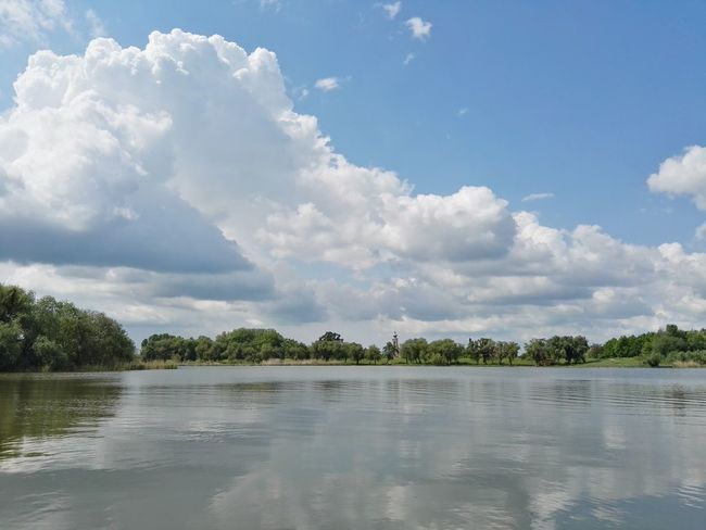 Water Tree Cloud - Sky Landscape Sky Nature Day Lake View Church Outdoors Blue Sunny