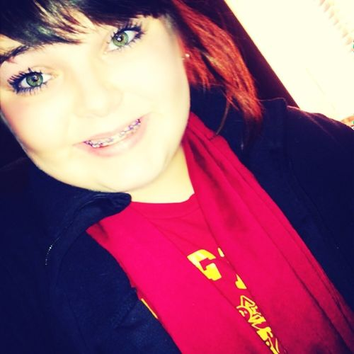 Reppin Gryffindor today!