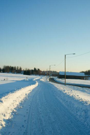 White road