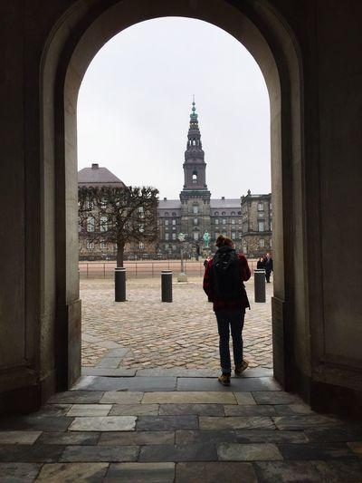 Through The Arch Copenhagen, Denmark Copenhagen Travel Traveling Cobbled Streets