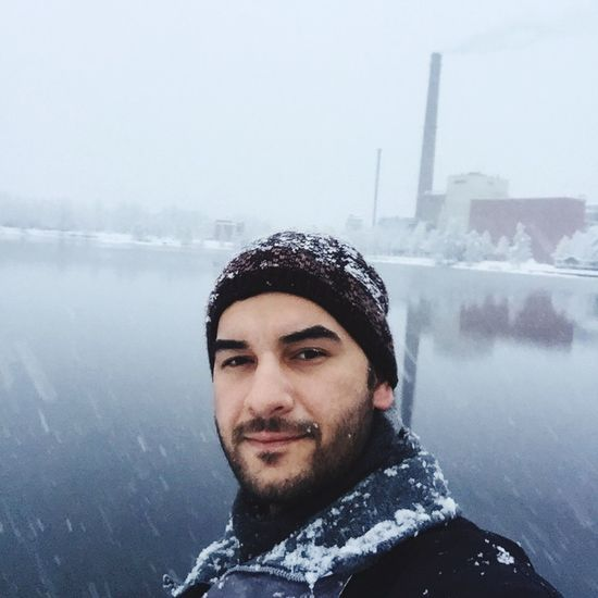 Check This Out Hanging Out Mänttä Snow ❄ Finland That's Me Selfieportrait