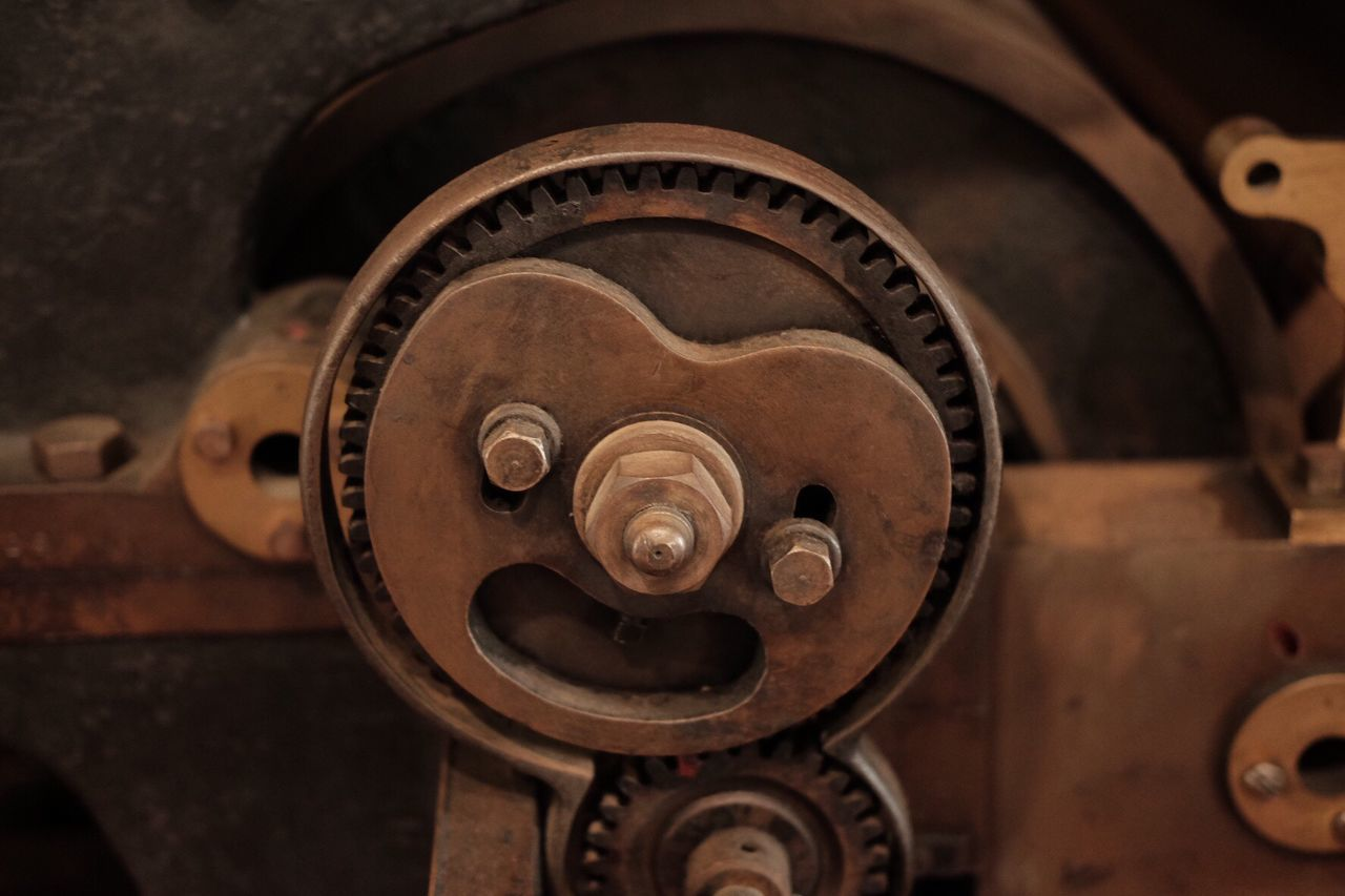 EyeEm Selects Metal Printing Press Machinery