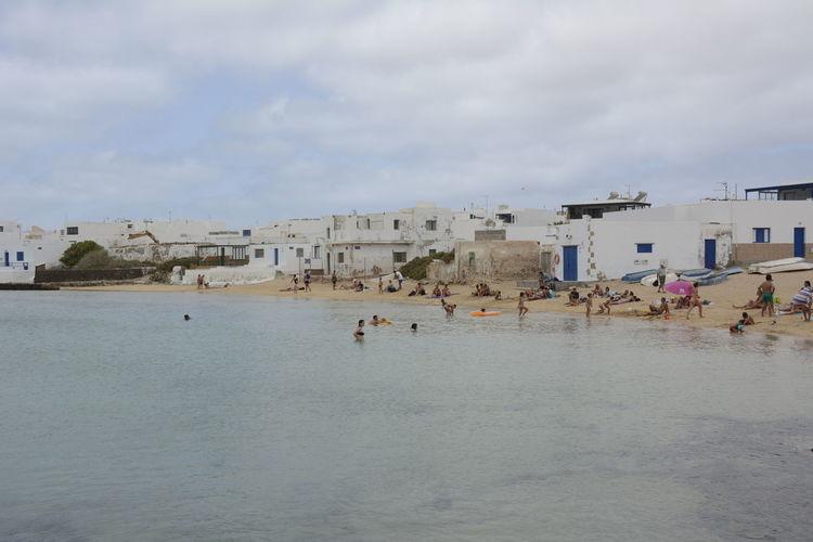 Water People La Graciosa Canarias Lanzarote Arena Mar Agua Playa Sea Beach