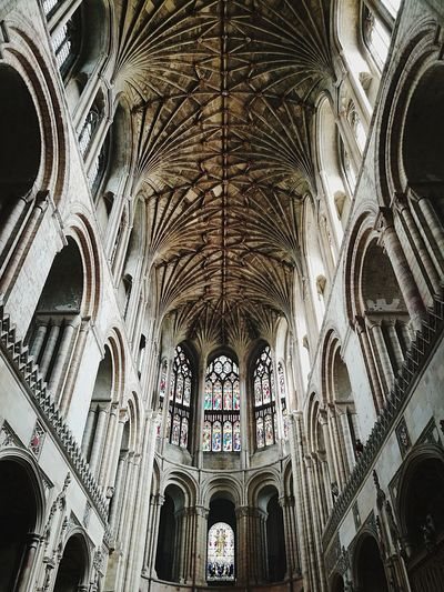 TheKing Architecture Religion History Tourism Medieval Arch Architectural Column Travel Destinations Window Place Of Worship No People The Street Photographer - 2017 EyeEm Awards Place Of Heart Norwichcathedral Church Architecture Live For The Story The Architect - 2017 EyeEm Awards