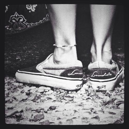 Blackandwhite Monochrome Black & White Sneakers vans×roomstate
