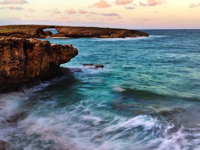 Ocean breeze.