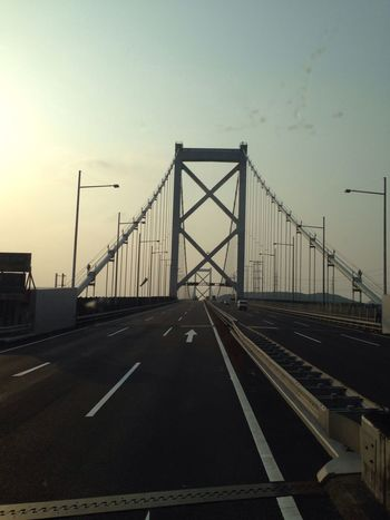 Photo Truck Sunset Bridge