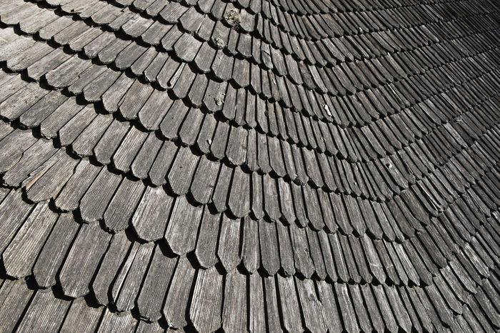 Antique vintage wooden roof tiles perspective Angle Antique Architectural Detail Architecture Backgrounds Battens Close-up Detail Historical Lath Old Pattern Perspective Roof Roof Tile Roofing Rooftop Textured  Tiles Traditional Vintage Wood - Material Wooden