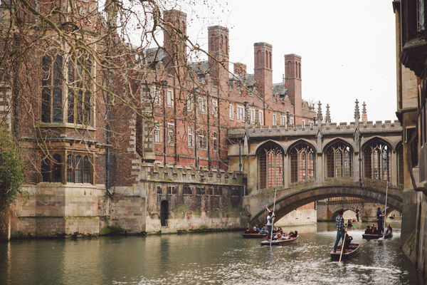 Architecture Boats Bridge Of Sighs Building Building Exterior Built Structure Canal Capital Cities  City City Life Day Leisure Activity Lifestyles Mixed Age Range Outdoors River Sky Spring Tourism Tourist Travel Destinations Water Waterfront Original Experiences