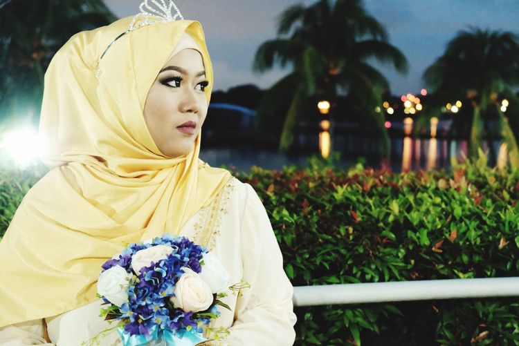 Flower Tree Nature Outdoors Nightphotography Landscape Landscape_photography tr Tranquil Scene Traditional Clothing Wedding Malaywedding Malayweddingphotography Beauty In Nature Beautiful ♥