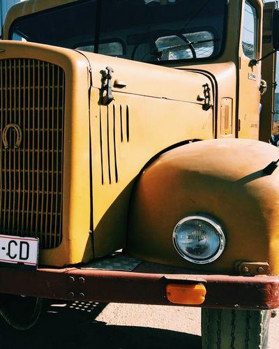 Truck Vscocam VSCO VSCO IPhoneography Amateurphotography Taking Photos Yellow Iphone6 Contrast Gostivar Gostivar Colors Of Autumn EyeEm Best Shots