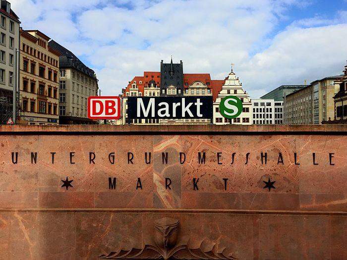 Leipzig Markt Metro Trainstation Streetphotography