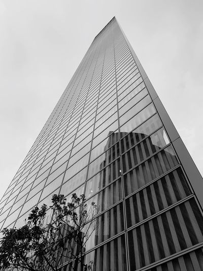 Low Angle View Building Exterior Built Structure Architecture Sky Tall - High Office Building Exterior