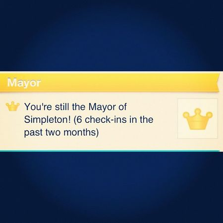 A hat tip to XTC. #xtc #foursquare #socialmediajokea Foursquare Xtc Socialmediajokea