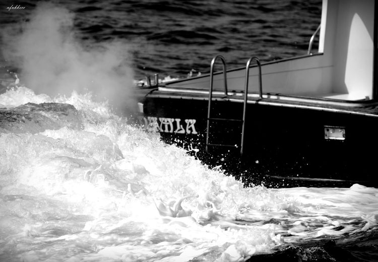 Köpükler Photographer NikonD5200 Myobjective Amazing Marmarasea Water Sea Motion Splashing Wave Nature Nautical Vessel Power