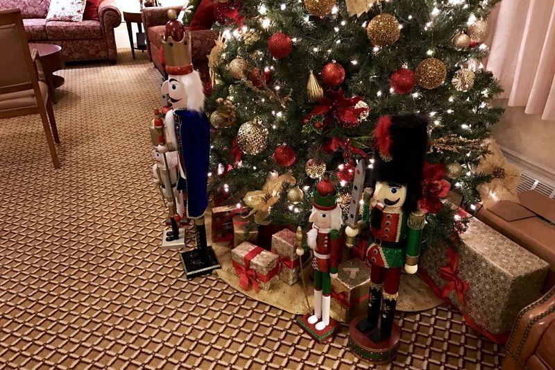 Nutcrackers Christmas Christmas Tree Xmas2016 Tradition Iphone7 Koduckgirl