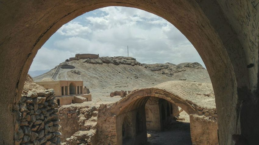Architecture Built Structure No People Day Travel Photography Travel Destinations Travel Middle East Adventure Iran Yazd