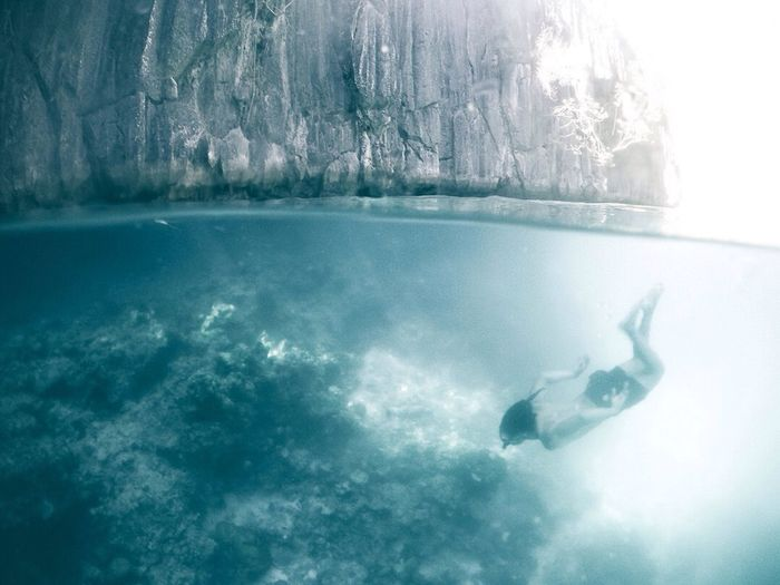 Perspectives On Nature Water Sea Underwater Swimming Nature Adventure Outdoors Coron, Palawan Travel Destinations Travel Photography Landscape Philippines Scenics Seascape Majestic