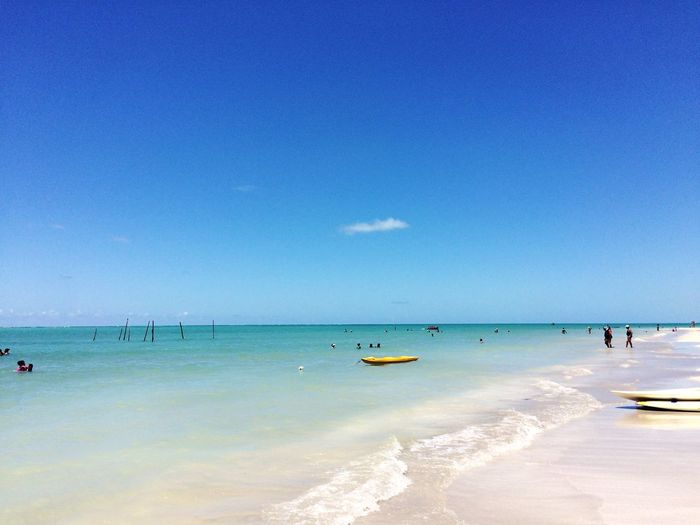 Maragogi Alagoas Antunes Beach Sea Sand Water Blue Horizon Over Water Sunny Summer Sky Nature Clear Sky Vacations Tranquility
