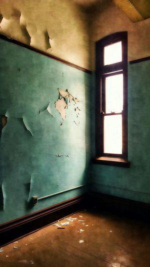 Beautiful Decay Green Light And Shadow Empty Places Obsessive Edits NEM Architecture NEM Derelict NEM Painterly NEM Mood