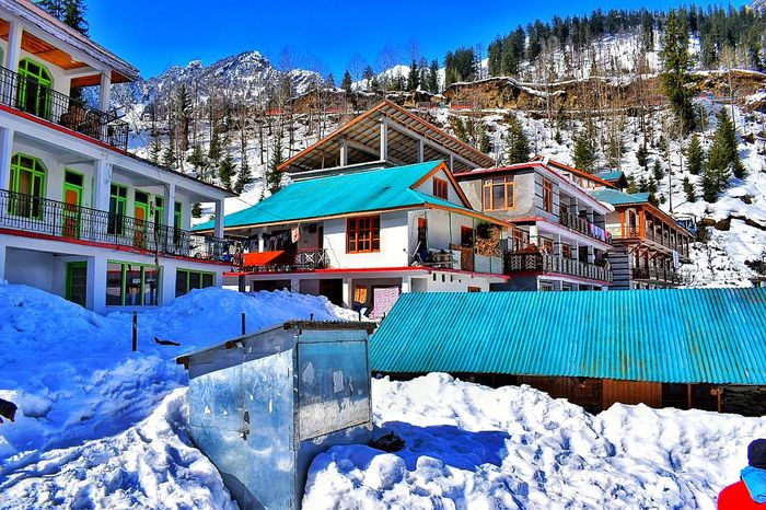colour in white Shades Of Winter Snow Cold Temperature Winter Mountain Outdoors Day Built Structure Nature Sky Architecture Vacations No People An Eye For Travel