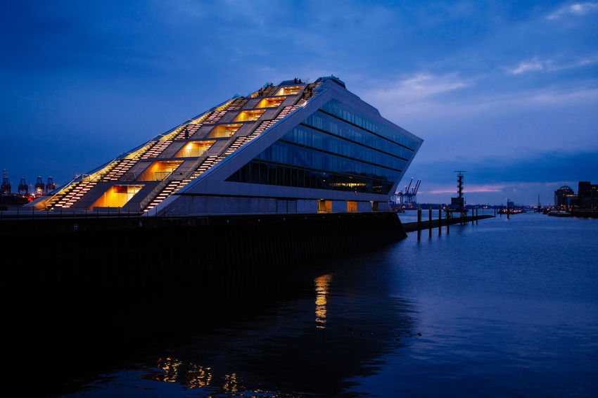 Architecture Building Exterior Built Structure Day Illuminated Nature No People Outdoors River Sky Water Waterfront