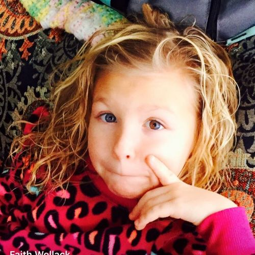 Uniqueness Eyes Child Headshot Cute Looking At Camera Family❤ Different Color Eyes Beutiful  Love Daughter